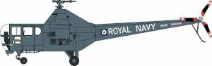 1/72 WESTLAND DRAGONFLY ROYAL NAVY WH991YORKSHIRE AIR MUSEUM