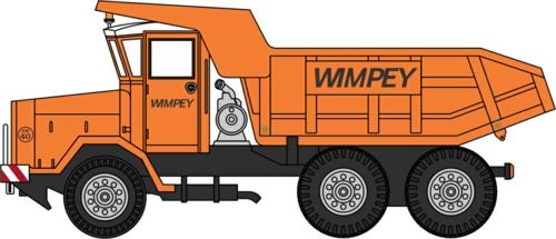 1/76 AEC 690 DUMPER TRUCK WIMPEY