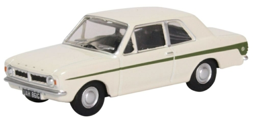 1/76 FORD CORTINA MK2 ERMINE WHITE/SHERWOOD GREEN