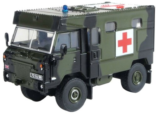 1/76 BAOR (BRITISH ARMY OF THE RHINE) 1990 LAND ROVER FC AMBULANCE
