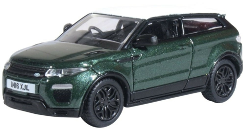 1/76 AINTREE GREEN RANGE ROVER EVOQUE COUPE (FACELIFT)