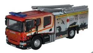1/76 HUMBERSIDE FIRE AND RESCUE PUMP LADDER