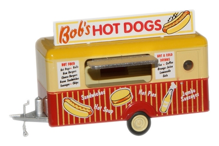 1/76 BOBS HOT DOGS MOBILE TRAILER